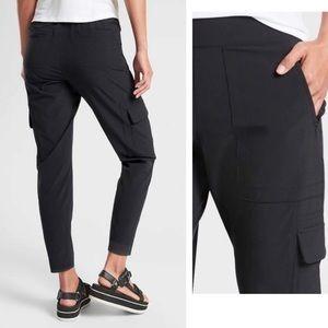 NWOT ATHLETA Chelsea Cargo Black Pants